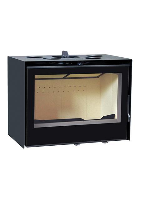 foyer acier insert a bois insert 800. Black Bedroom Furniture Sets. Home Design Ideas
