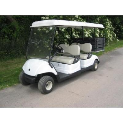voiture yamaha g29 electrique 48 volts 4 places avec benne. Black Bedroom Furniture Sets. Home Design Ideas