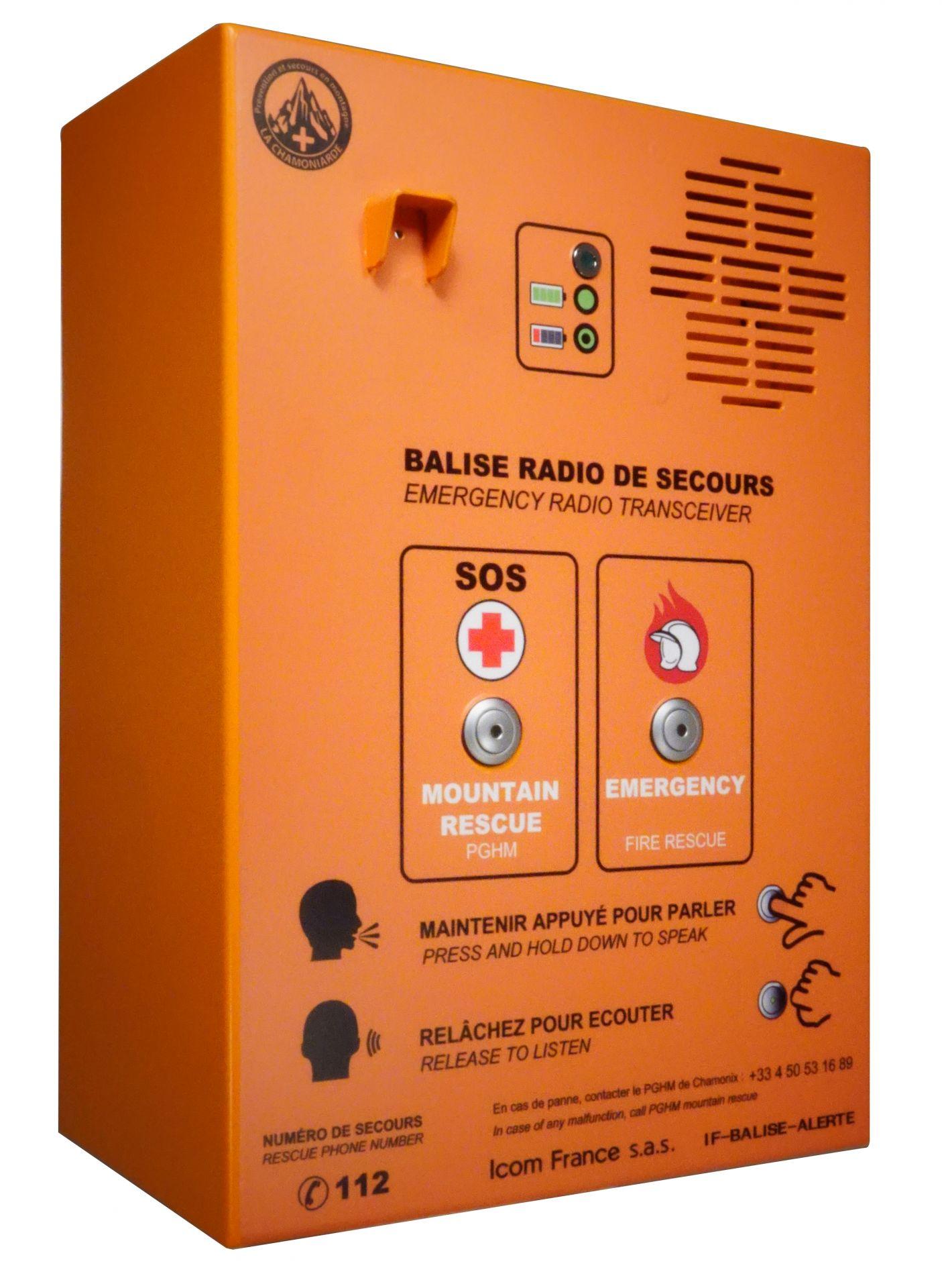 Borne sécurisée ppms : appel de détresse et alarme