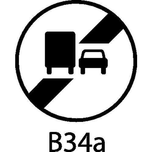 panneau de signalisation b34a fin d 39 interdiction de d passer pour les poids lourds comparer. Black Bedroom Furniture Sets. Home Design Ideas