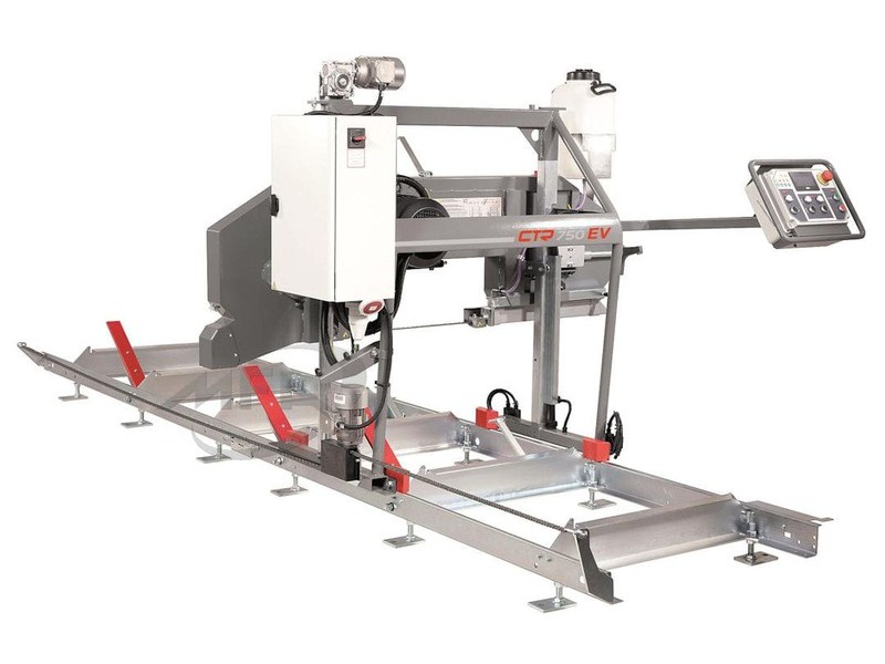 Scierie mobile compact ctr 750 ev