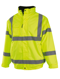 Veste de securite jaune