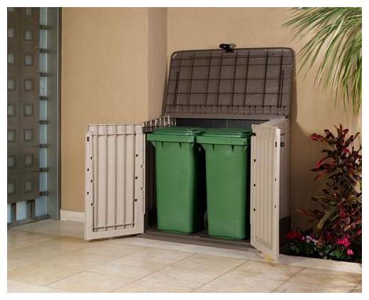 cache conteneur pour d chet chalet jardin achat vente de cache conteneur pour d chet. Black Bedroom Furniture Sets. Home Design Ideas