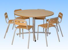 ENSEMBLE TABLE RONDE
