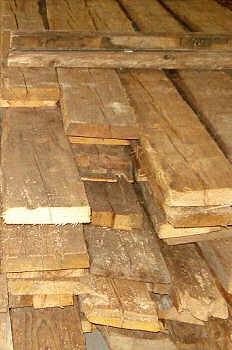 Poutrelle en bois a donner