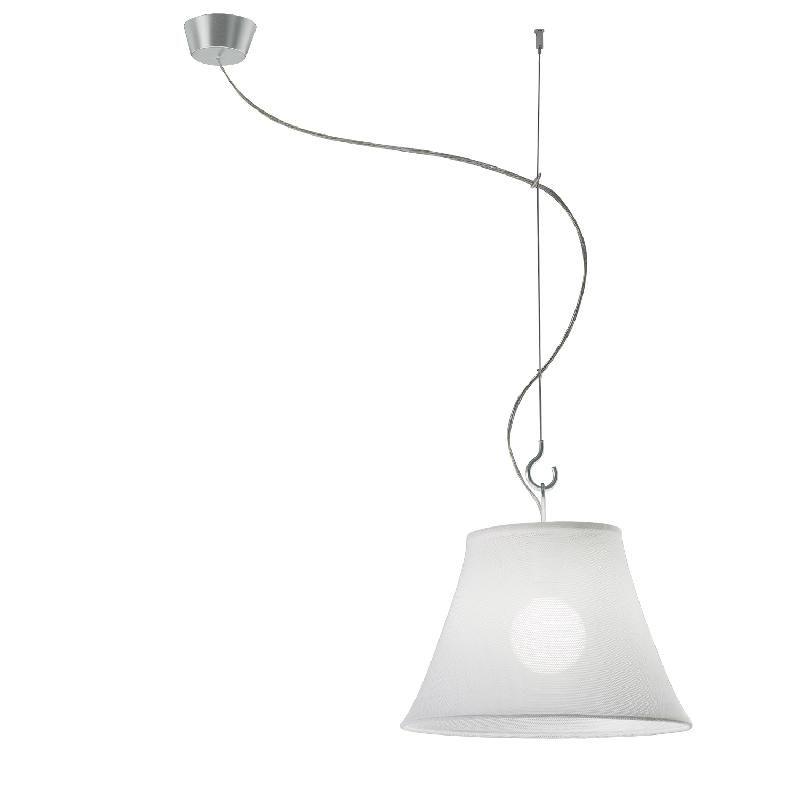 sunshade suspension axe d port blanc 45cm suspension axo light design par marco taietta. Black Bedroom Furniture Sets. Home Design Ideas