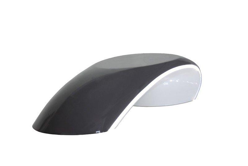 pod table basse design gris fonce avec eclairage led. Black Bedroom Furniture Sets. Home Design Ideas