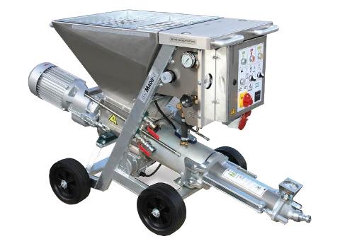 Machine pour injection coulis et mortier mai®400nt