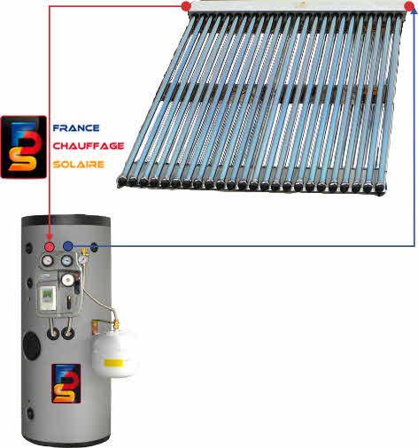 chauffe eau solaire tube sous vide