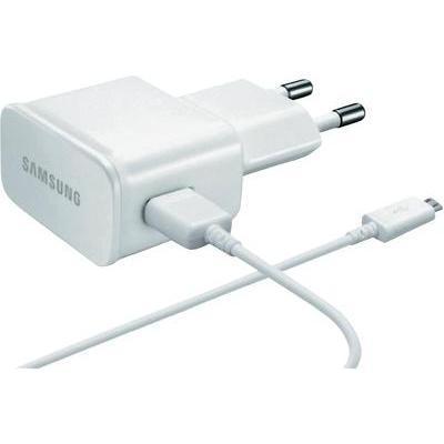 CHARGEUR MICRO-USB 2 AMPÈRES SAMSUNG ETA-U90E, BLANC