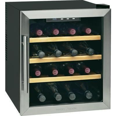 Cave vin pour 16 bouteilles pc ws 1047 profi cook - Cave a vin 36 bouteilles ...