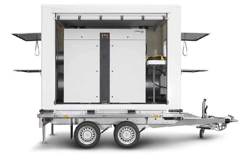 Déshydrateur mobile et flexible ttr cargo