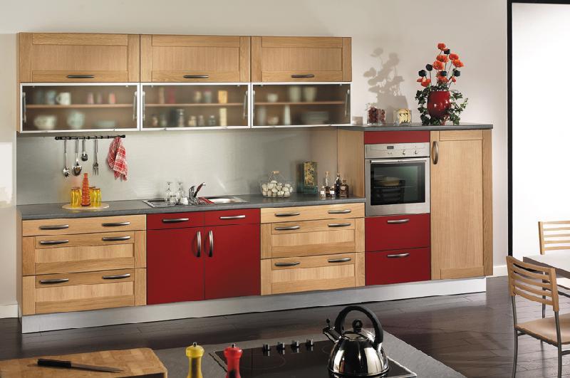 You produits cuisines quip es for Cuisine amenagee bois