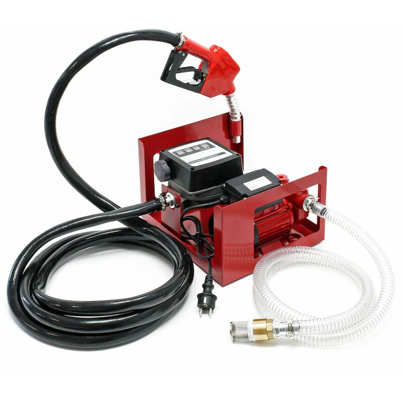 POMPE À FUEL OU GASOIL BIO AUTOASPIRANTE 230V/600W 40L/MIN MOBILE PISTOLET AUTO. - WILTEC