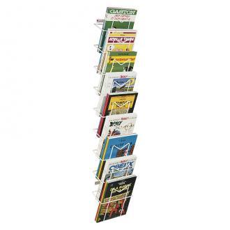 presentoir brochures bd mural 9 cases a4. Black Bedroom Furniture Sets. Home Design Ideas