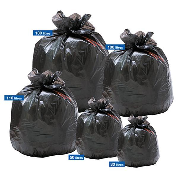 Des Sacs Poubelles Noirs : Sacs poubelles noirs super ?conomiques poubelle