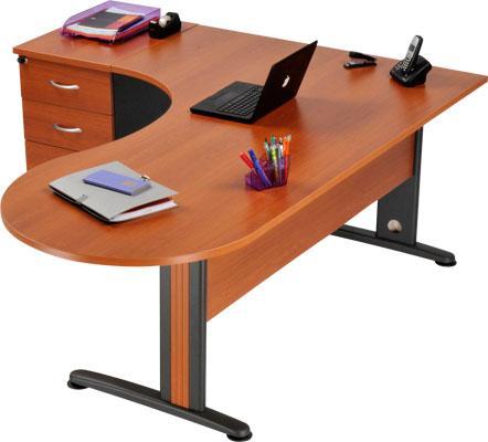 bureau avec courbe comparez les prix pour professionnels sur page 1. Black Bedroom Furniture Sets. Home Design Ideas