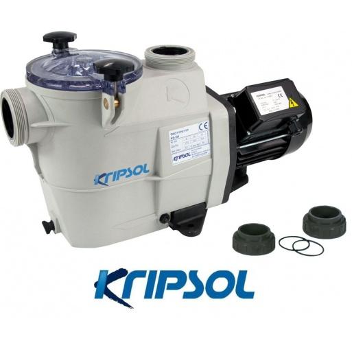 Pompe pour piscine kripsol koral ks75 0 75 cv 11 5 m3 h for Pompe pour piscine autoportee