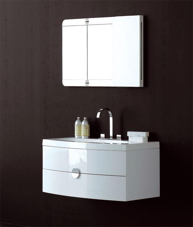Meuble salle de bains poppee 920 r f pop9200 comparer les - Meuble de salle de bain contemporain ...