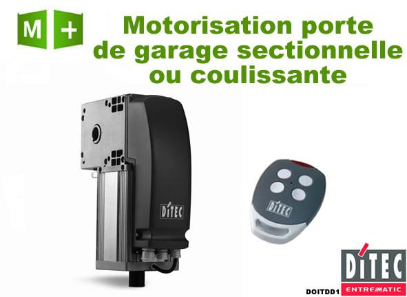 motorisation porte de garage ditec doitdd1 comparer les prix de motorisation porte de garage. Black Bedroom Furniture Sets. Home Design Ideas