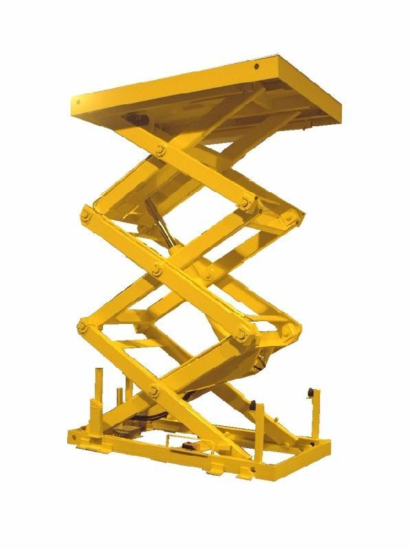 Table elevatrice triple ciseaux for Table elevatrice a ciseaux