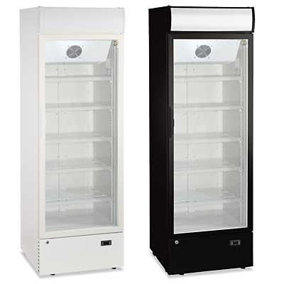 Armoires vitrées réfrigérantes