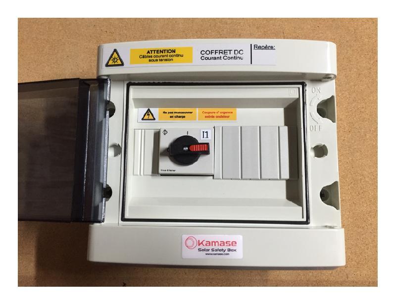 ensemble pour panneau solaire solar safety box achat vente de ensemble pour panneau solaire. Black Bedroom Furniture Sets. Home Design Ideas