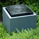 La fontaine evora pour jardin ou terrasse ubbink decoration de bassin - Fontaine pour terrasse ...