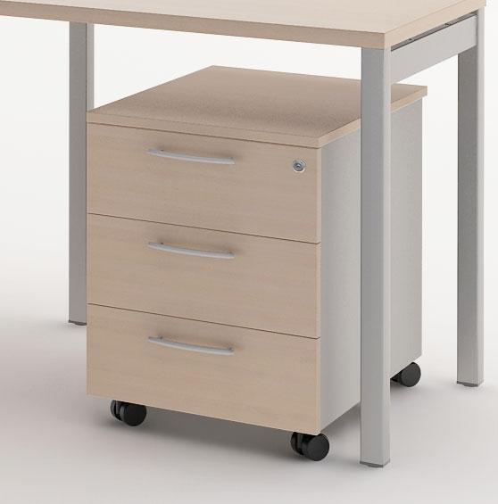 mon bureau design produits de la categorie caisson a tiroir sur roues. Black Bedroom Furniture Sets. Home Design Ideas