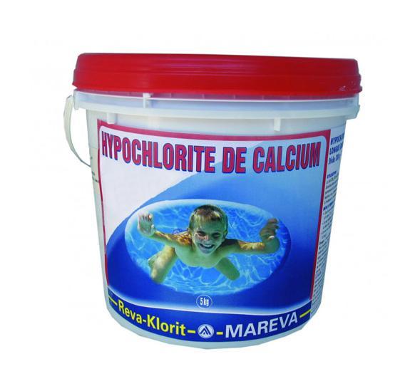 TRAITEMENT CHLORE CHOC REVA-KLORIT GRANULÉS SEAU 5KG - MAREVA