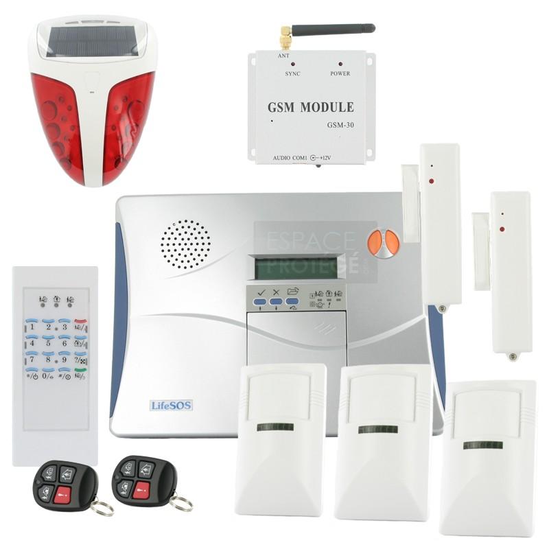 alarmes anti intrusion tous les fournisseurs alarme. Black Bedroom Furniture Sets. Home Design Ideas