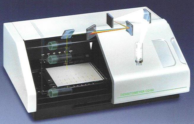 DENSITOMÈTRE UV-VIS-FLUO CD60 POUR CCM