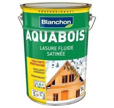 BLANCHON - LASURE AQUABOIS BOIS INTÉRIEURS INCOLORE 5L - 05108403