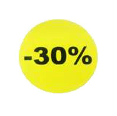 étiquette adhésive -30%