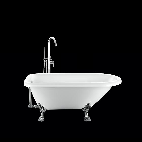 baignoire ancienne graceville 151 blanche avec pattes de lion chrom es comparer les prix de. Black Bedroom Furniture Sets. Home Design Ideas