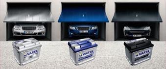 Batteries pour véhicules