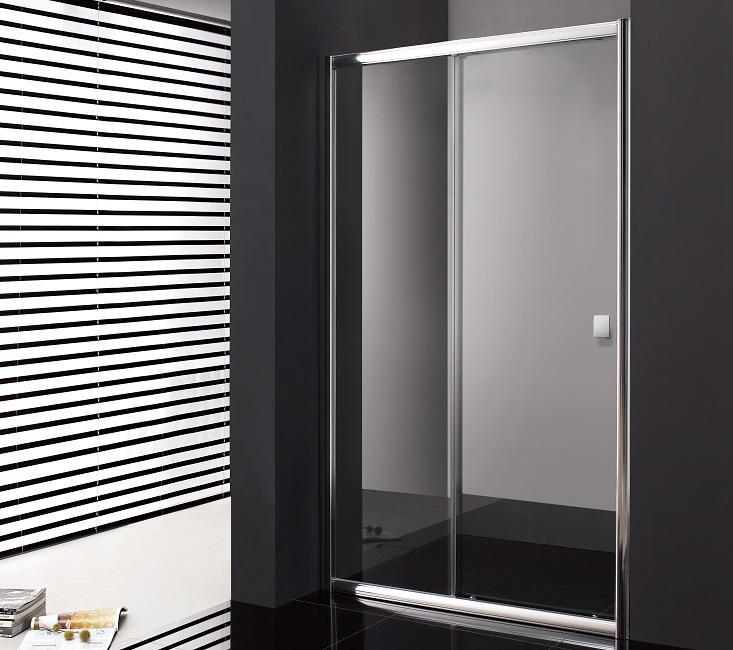 Paroi de douche coulissante 90 cm titan verre tremp 6mm - Parois douche coulissante ...