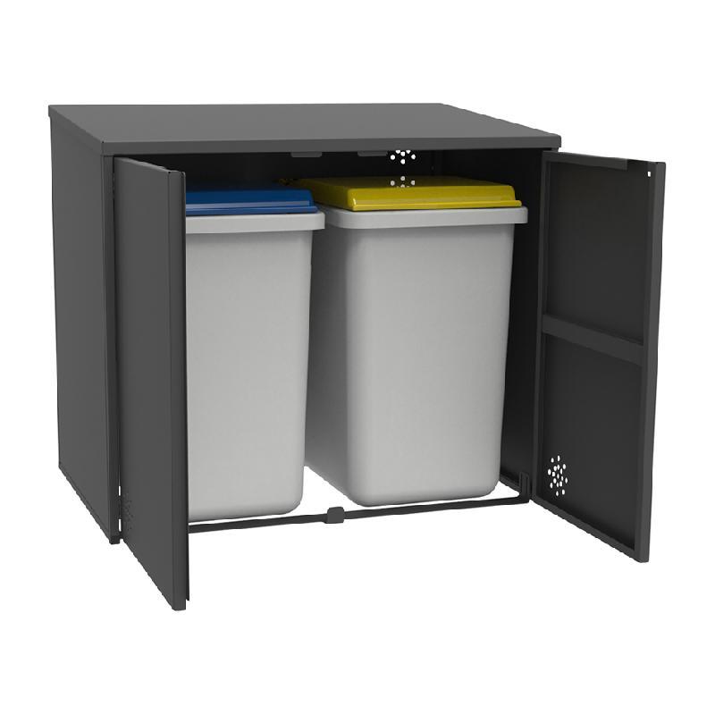cache conteneur pour d chet comparez les prix pour. Black Bedroom Furniture Sets. Home Design Ideas