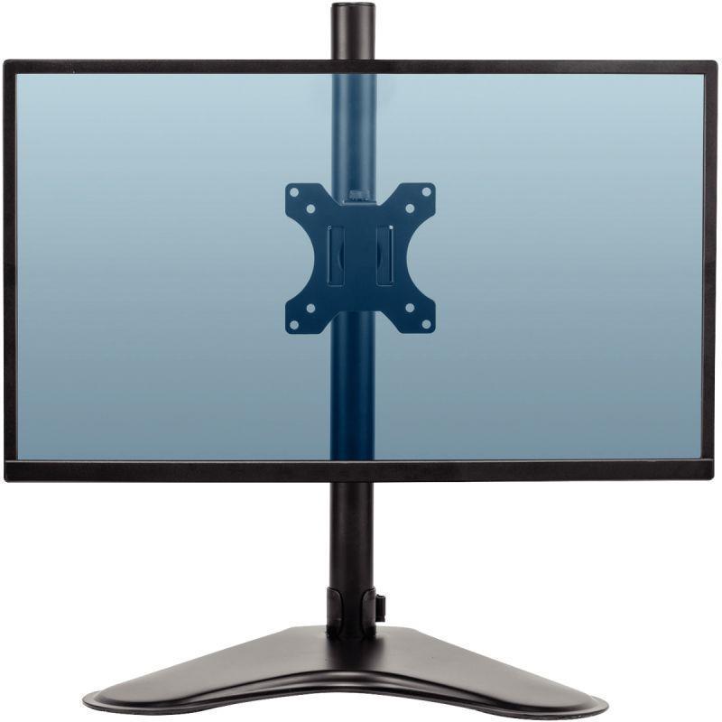 Bras simple écrans horizontal sur socle professional series