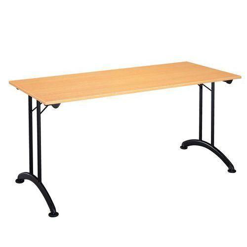 table modulaire pliante pi tement noir comparer les prix. Black Bedroom Furniture Sets. Home Design Ideas