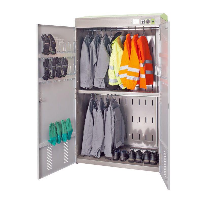 Armoire sèche-vêtement 20 vestes et pontalon de travail