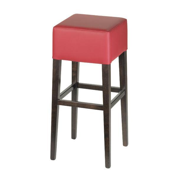 chicago tabouret de bar noir. Black Bedroom Furniture Sets. Home Design Ideas