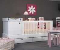 Lit bebe transformable - Lit bebe avec table a langer integree ...