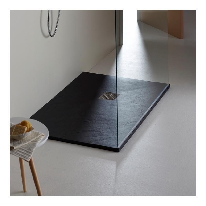 pose receveur douche sureleve cool of receveurs de douches planetebain achat vente de receveurs. Black Bedroom Furniture Sets. Home Design Ideas