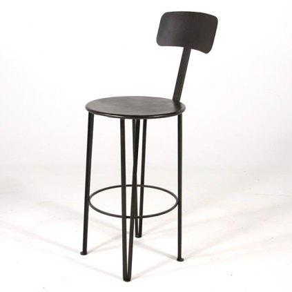 tabouret en fer forge hauteur 65 cm. Black Bedroom Furniture Sets. Home Design Ideas