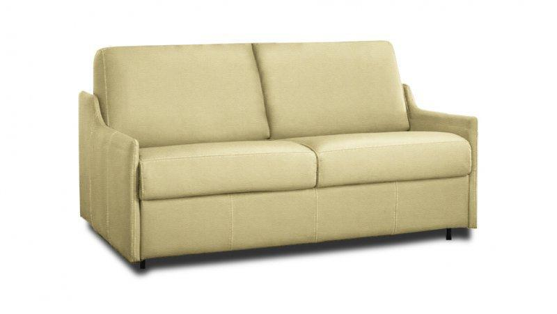 Canape convertible rapido luna cuir couchage quotidien 120cm for Convertible couchage quotidien