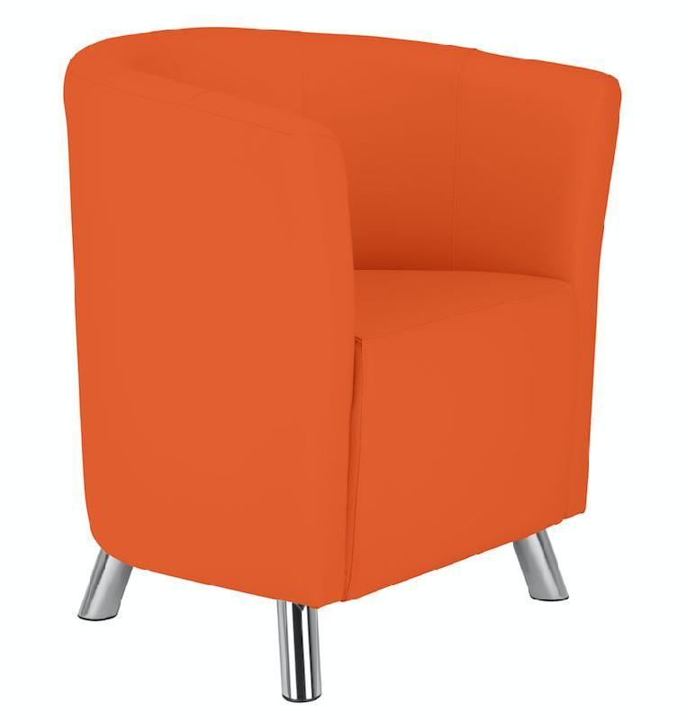 chester chauffeuse orange. Black Bedroom Furniture Sets. Home Design Ideas