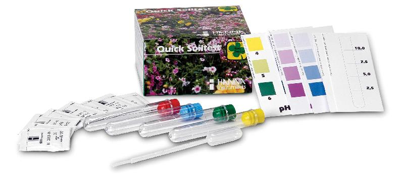 Kit analyseur de sol npk et ph comparer les prix de kit for Analyse de sol construction