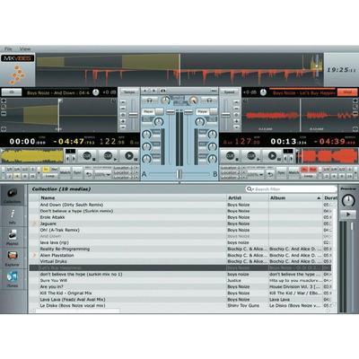 LOGICIEL DE MIXAGE MIXVIBES CROSS DJ