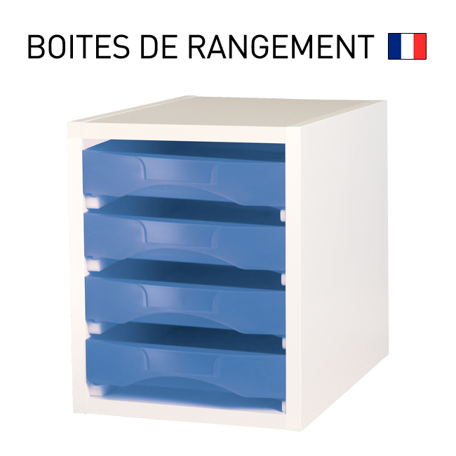 meubles pour boites de rangement starbox roulettes en option. Black Bedroom Furniture Sets. Home Design Ideas